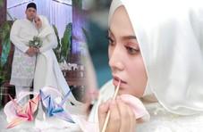 马来西亚歌手茜拉宣布结婚 晒婚礼照幸福满满