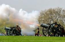 超长待机英女王庆生 伦敦海德公园鸣礼炮41响