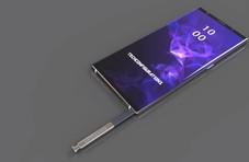 三星Galaxy Note 9概念图曝光 或将8月份正式面世