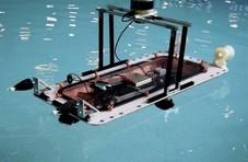3D打印无人船 用于错峰河道运输物资