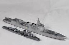 20多年前台海危机时,我军只有1艘现代化战舰