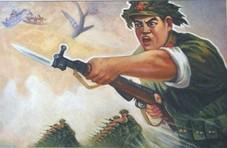 对越反击战中罕见的白刃格斗,200米内硬功夫