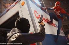 《蜘蛛侠》可在游戏通关后自由改变时间和天气