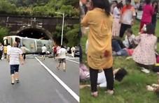广东一大巴侧翻致3死7伤  车上有多名中学老师