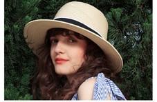 米兰达可儿的夏日最爱,清爽遮阳的凹造型神器
