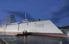 美军又出事了!准航母还没交付就在船厂里被淹了