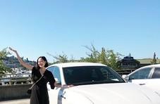 韩国超模结婚十年终怀孕,获老公百万豪车礼物
