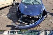 特斯拉Model 3爆出首次翻车事故