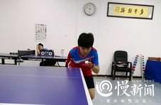 """重庆彭水独臂""""乒乓女孩"""":想拿全国冠军"""
