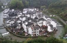 中国最圆的乡村:脸盆村