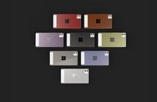设计感满分  微软高颜值Surface Phone渲染图曝光