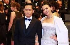 刘嘉玲晒婚纱照庆结婚10周年,与梁朝伟恩爱爆表
