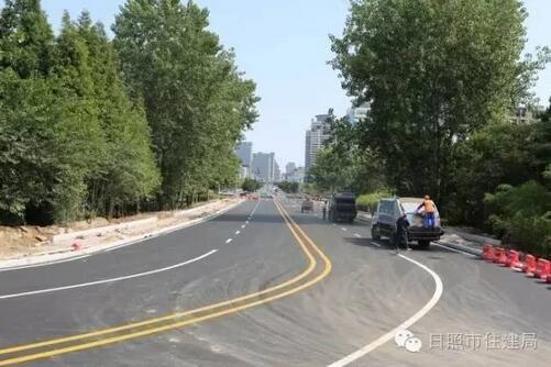 清风湖路建成通车 北京南路可提前分流至海曲东路