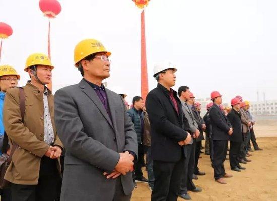 日照城中村改造打响新年第一炮,张郭村安置项目开工启动!