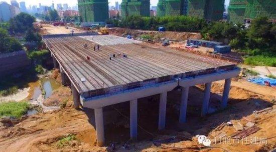 碧霞湖桥计划10月1日通车 淄博路将贯穿5处公园
