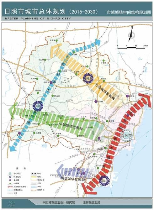 """日照未来城市总体规划:建""""双城双区多组团""""城市"""