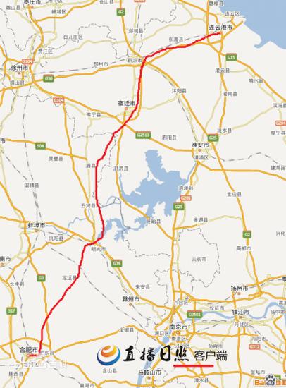 合肥至日照高铁正在规划 到安徽仅需两个半小时