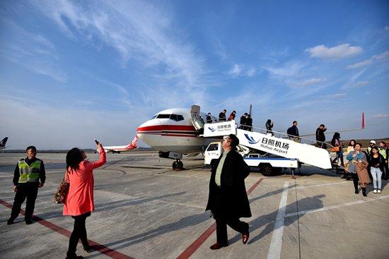 日照机场今起执行冬春航季 新开南苑、成都等多条航线