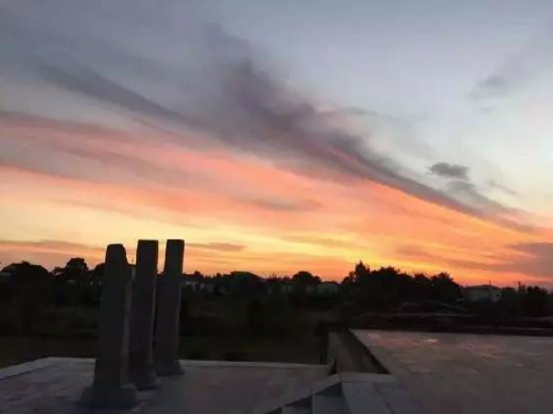 二祖寺的天空