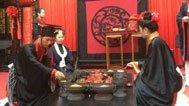 都江堰文庙举行传统士昏礼