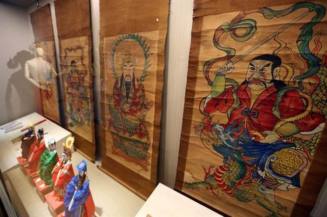 """""""道法万象""""道教信仰文化特展在台南开幕"""
