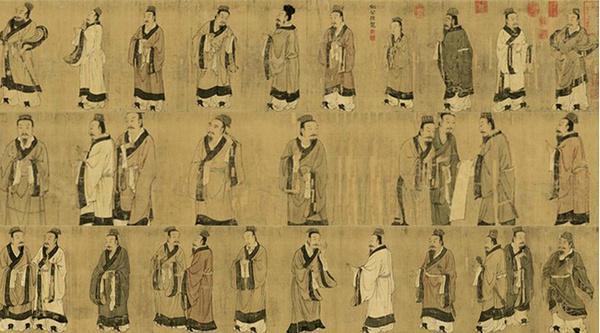一梦繁唐钢琴谱子-《史记·仲尼弟子列传》中提到,孔子门下弟子三千,受业身通者七十