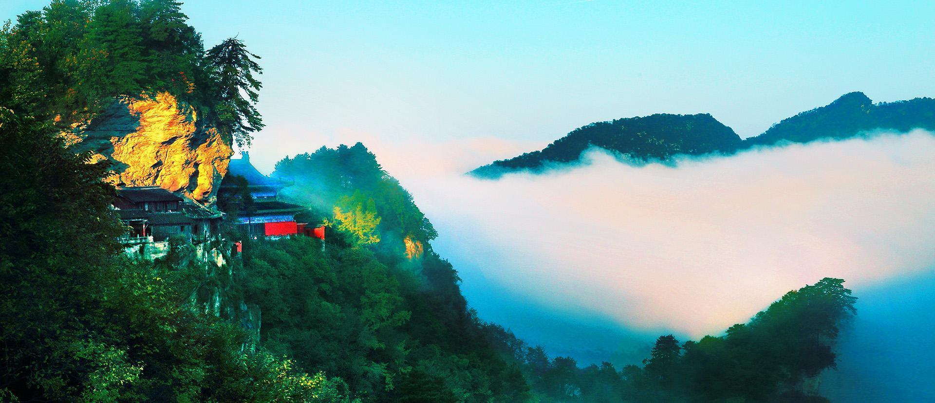 曲则有情:武当山复真观九曲黄河墙的独特魅力