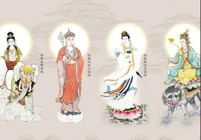 佛教最著名的四大菩萨