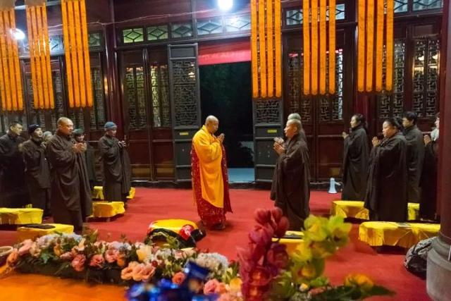 2017年阿育王寺传授居士三皈五戒法会通知