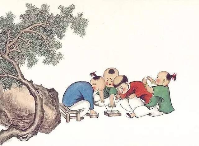 古诗里的童年趣事 你做过几件?