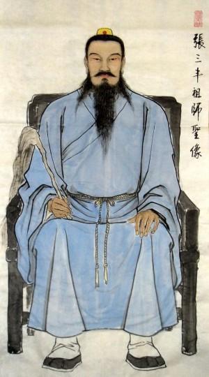 张三丰祖师圣像(资料图)