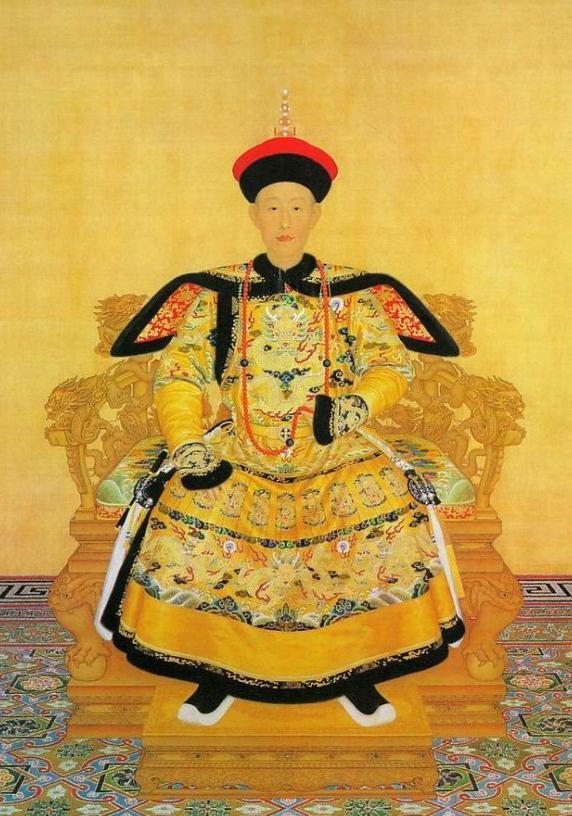 皇帝帆船手绘图