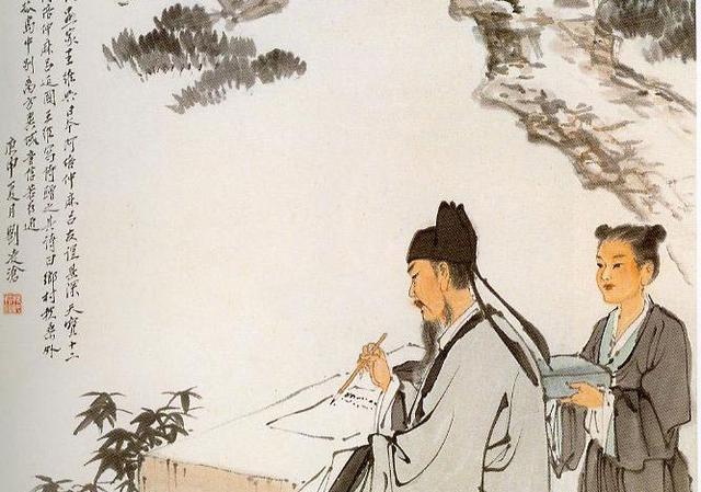 杜甫王维白居易:唐朝大诗人学陶渊明都不像变白初中生怎样图片