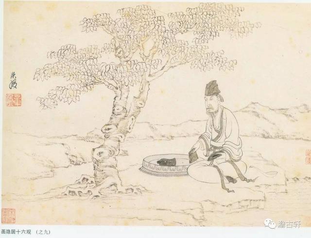 陈洪绶《隐居十六观》都讲了什么故事?