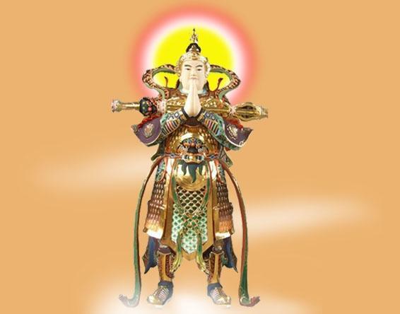 佛教的大护法 韦陀菩萨的来历