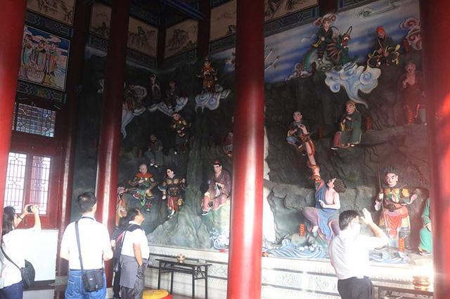 印尼道教参访团一行到吉林玄帝观参访