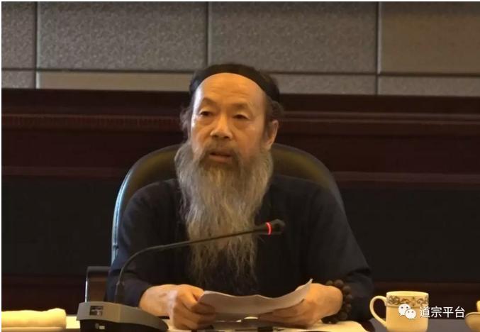 李光富会长:《道医集成》的定稿为在全国道教界培养道医人才奠定基础