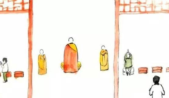 觉醒法师:进入寺院殿堂先跨哪一只脚?