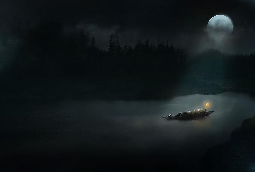 观月之影 观人之心