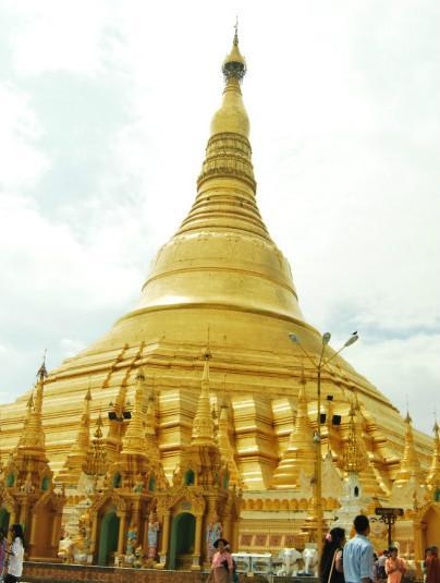缅甸那些不能错过的佛塔