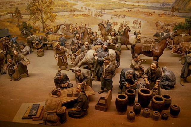 在中国古代重农轻商的传统里图片