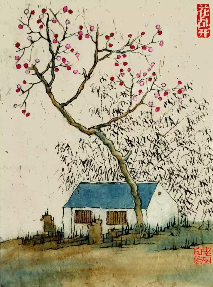 老树画画:江湖依旧在心中 人间哪有凉快处?