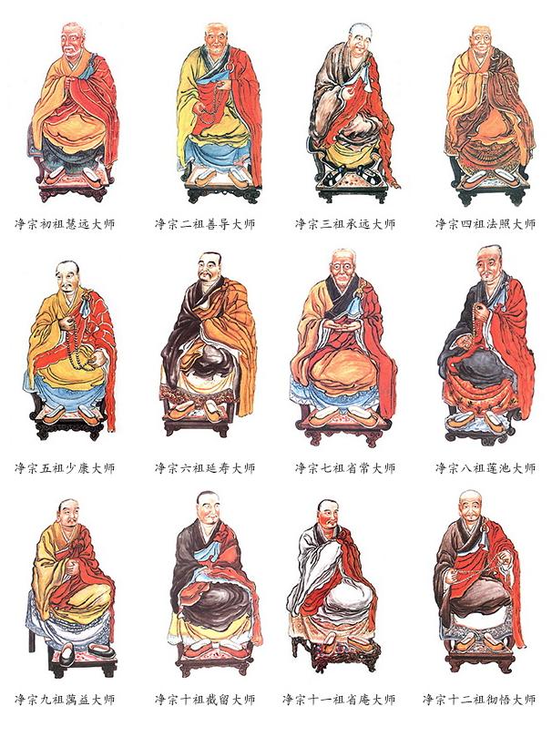 净宗十三祖的由来与净土思想的传承