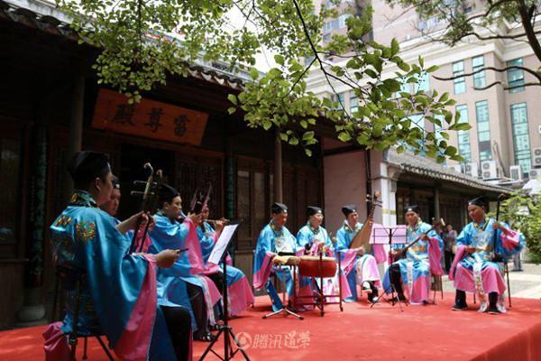 钧天妙乐,鼓点铿锵——首届无锡道教音乐会在阿炳故居举行