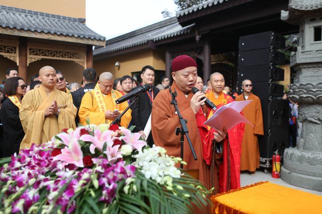 古刹重辉:上海宁国禅寺隆重举行牌楼奠基暨观音殿圣像开光法会