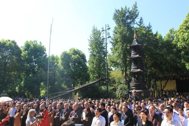 松纯长老示寂追思会暨回向法会在常州天宁禅寺举行