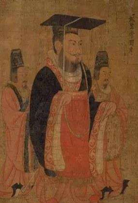 《历代帝王图》雄霸江山,可悲可叹!