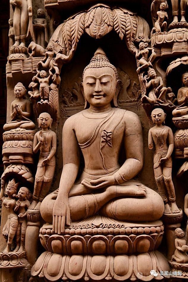 缅甸木头佛 时间恒河里的虔诚