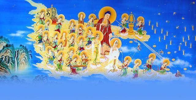恭迎阿弥陀佛圣诞 我们一起好好念佛!