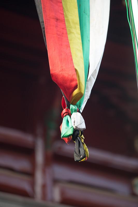 组图:武汉长春观传戒活动——朝礼戒幡